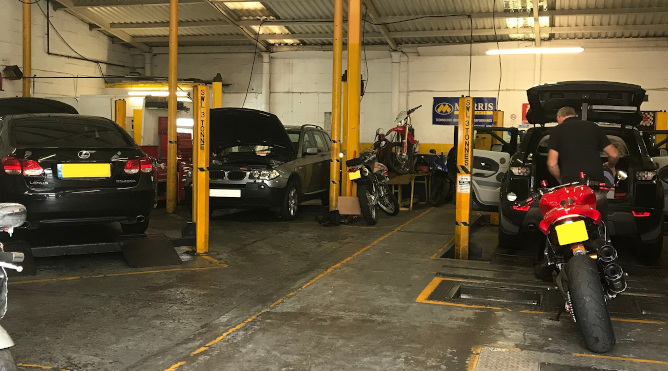 Partridge motors MOT test
